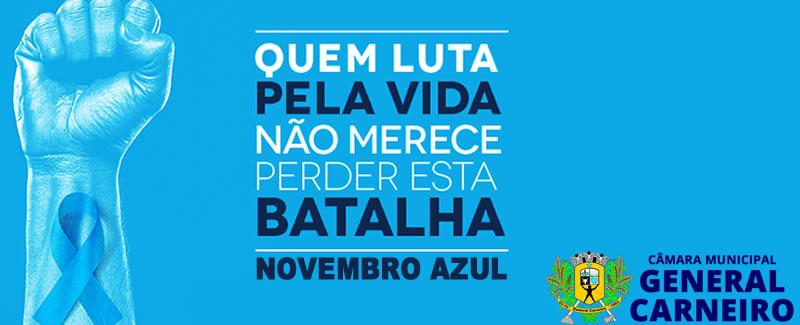 Campanha de Prevenção Novembro Azul